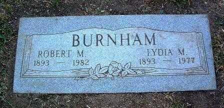 BURNHAM, LYDIA MARIE - Yavapai County, Arizona | LYDIA MARIE BURNHAM - Arizona Gravestone Photos