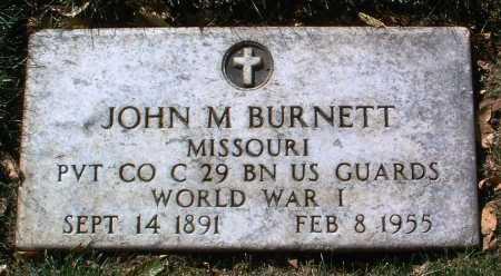 BURNETT, JOHN MORRISON - Yavapai County, Arizona | JOHN MORRISON BURNETT - Arizona Gravestone Photos