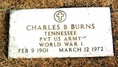 BURNS, CHARLES B. - Yavapai County, Arizona   CHARLES B. BURNS - Arizona Gravestone Photos