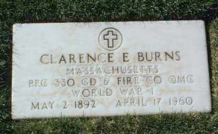 BURNS, CLARENCE E. - Yavapai County, Arizona | CLARENCE E. BURNS - Arizona Gravestone Photos