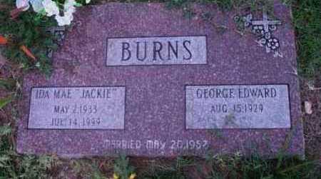 BURNS, IDA MAE (JACKIE) - Yavapai County, Arizona | IDA MAE (JACKIE) BURNS - Arizona Gravestone Photos