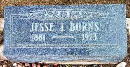 BURNS, JESSE J. - Yavapai County, Arizona | JESSE J. BURNS - Arizona Gravestone Photos