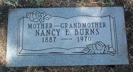 BURNS, NANCY ELIZABETH - Yavapai County, Arizona   NANCY ELIZABETH BURNS - Arizona Gravestone Photos
