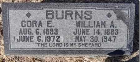 BELL BURNS, CORA E. - Yavapai County, Arizona   CORA E. BELL BURNS - Arizona Gravestone Photos