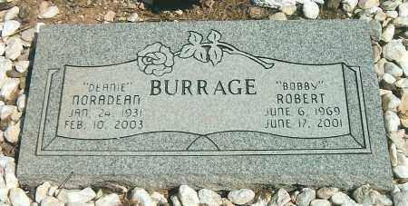 BURRAGE, NORADEAN - Yavapai County, Arizona | NORADEAN BURRAGE - Arizona Gravestone Photos