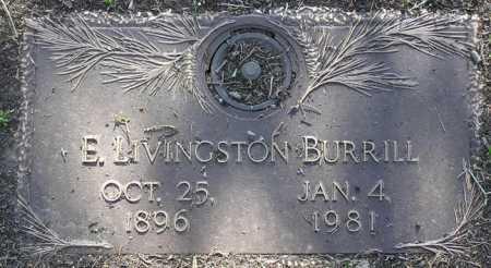 BURRILL, EDWARD LIVINGSTON - Yavapai County, Arizona   EDWARD LIVINGSTON BURRILL - Arizona Gravestone Photos