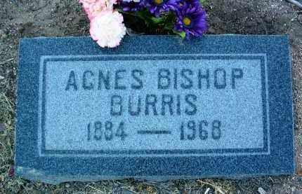 BISHOP BURRIS, AGNES M. - Yavapai County, Arizona | AGNES M. BISHOP BURRIS - Arizona Gravestone Photos