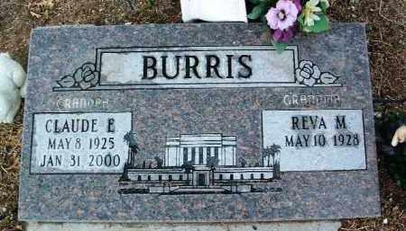 JASON BURRIS, REVA MAY - Yavapai County, Arizona   REVA MAY JASON BURRIS - Arizona Gravestone Photos