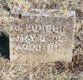 BURSON, J. - Yavapai County, Arizona   J. BURSON - Arizona Gravestone Photos