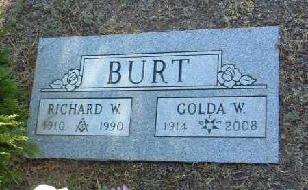 WILLIS BURT, GOLDA ALLINE - Yavapai County, Arizona | GOLDA ALLINE WILLIS BURT - Arizona Gravestone Photos