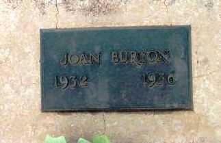 BURTON, JOAN - Yavapai County, Arizona | JOAN BURTON - Arizona Gravestone Photos