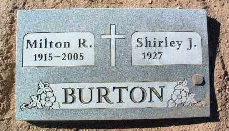 BURTON, SHIRLEY J. - Yavapai County, Arizona | SHIRLEY J. BURTON - Arizona Gravestone Photos
