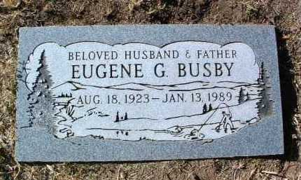 BUSBY, EUGENE GEORGE - Yavapai County, Arizona | EUGENE GEORGE BUSBY - Arizona Gravestone Photos