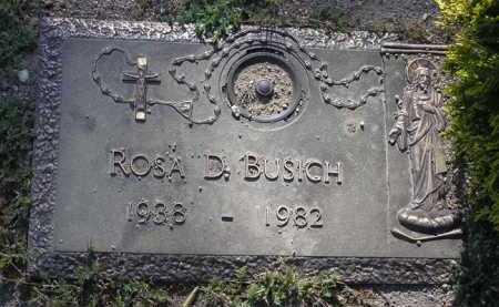BUSICH, ROSA D. - Yavapai County, Arizona   ROSA D. BUSICH - Arizona Gravestone Photos