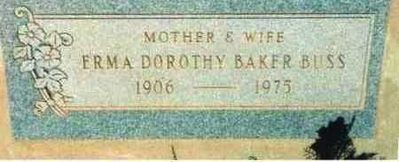 BAKER, ERMA DOROTHY - Yavapai County, Arizona | ERMA DOROTHY BAKER - Arizona Gravestone Photos