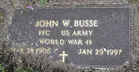 BUSSE, JOHN WILLIAM - Yavapai County, Arizona | JOHN WILLIAM BUSSE - Arizona Gravestone Photos