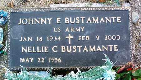 BUSTAMANTE, JOHNNY E. - Yavapai County, Arizona | JOHNNY E. BUSTAMANTE - Arizona Gravestone Photos