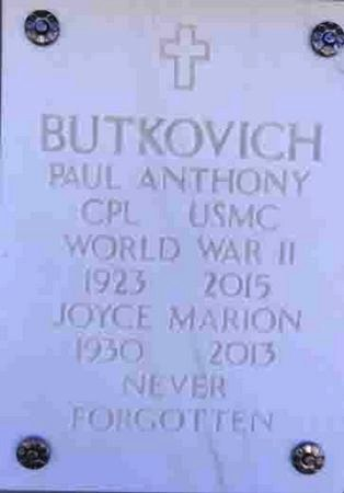 BUTKOVICH, ANTHONY PAUL - Yavapai County, Arizona   ANTHONY PAUL BUTKOVICH - Arizona Gravestone Photos