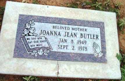 MORGAN BUTLER, JOANNA JEAN - Yavapai County, Arizona | JOANNA JEAN MORGAN BUTLER - Arizona Gravestone Photos
