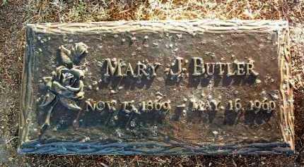 BUTLER, MARY J. - Yavapai County, Arizona | MARY J. BUTLER - Arizona Gravestone Photos