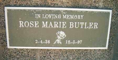 BUTLER, ROSE MARIE/JOAN - Yavapai County, Arizona | ROSE MARIE/JOAN BUTLER - Arizona Gravestone Photos