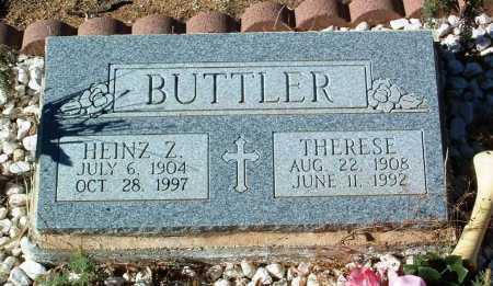 BUTTLER, THERESE - Yavapai County, Arizona   THERESE BUTTLER - Arizona Gravestone Photos