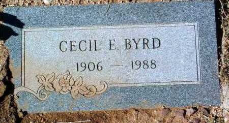BYRD, CECIL ELBERT - Yavapai County, Arizona | CECIL ELBERT BYRD - Arizona Gravestone Photos