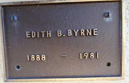 BARBER BRYNE, EDITH B. - Yavapai County, Arizona | EDITH B. BARBER BRYNE - Arizona Gravestone Photos