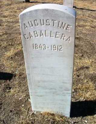 CABALLERA, AUGUSTINE - Yavapai County, Arizona   AUGUSTINE CABALLERA - Arizona Gravestone Photos