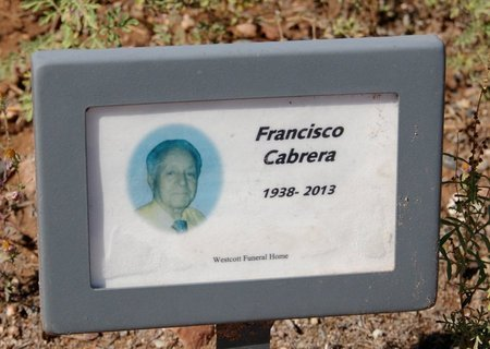 CABRERA, FRANCISCO - Yavapai County, Arizona | FRANCISCO CABRERA - Arizona Gravestone Photos
