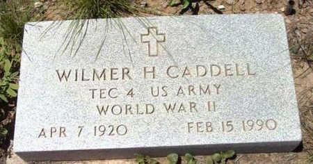 CADDELL, WILMER H. - Yavapai County, Arizona | WILMER H. CADDELL - Arizona Gravestone Photos