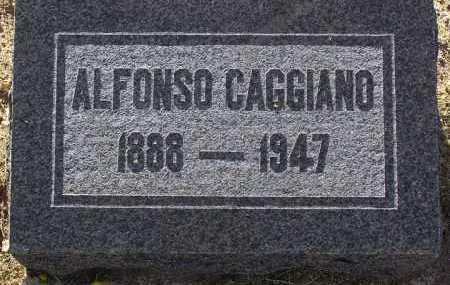 CAGGIANO, ALFONSO - Yavapai County, Arizona | ALFONSO CAGGIANO - Arizona Gravestone Photos