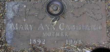 VAGLIO WAGER, MARY ANN - Yavapai County, Arizona | MARY ANN VAGLIO WAGER - Arizona Gravestone Photos