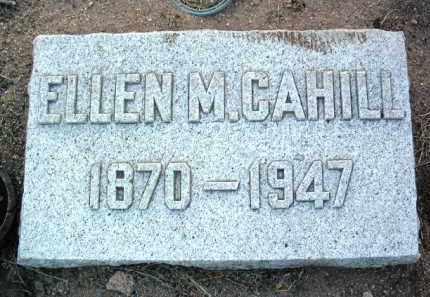 CAHILL, ELLEN M. - Yavapai County, Arizona | ELLEN M. CAHILL - Arizona Gravestone Photos