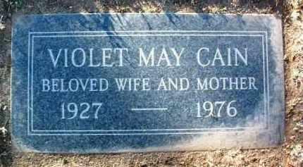CAIN, VIOLET MAY - Yavapai County, Arizona | VIOLET MAY CAIN - Arizona Gravestone Photos