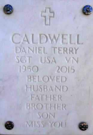 CALDWELL, DANIEL TERRY - Yavapai County, Arizona | DANIEL TERRY CALDWELL - Arizona Gravestone Photos