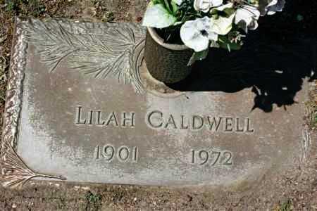 CALDWELL, LILAH MAY - Yavapai County, Arizona   LILAH MAY CALDWELL - Arizona Gravestone Photos