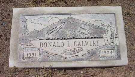 CALVERT, DONALD LE RAY - Yavapai County, Arizona   DONALD LE RAY CALVERT - Arizona Gravestone Photos