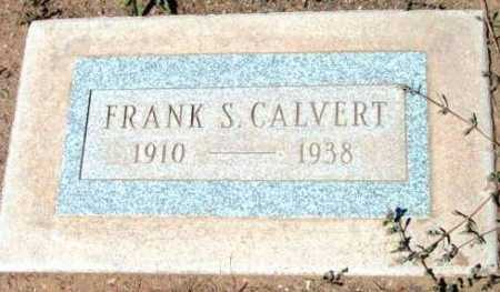 CALVERT, FRANK SNYDER - Yavapai County, Arizona | FRANK SNYDER CALVERT - Arizona Gravestone Photos