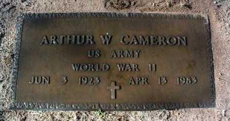 CAMERON, ARTHUR WILLIAM - Yavapai County, Arizona | ARTHUR WILLIAM CAMERON - Arizona Gravestone Photos