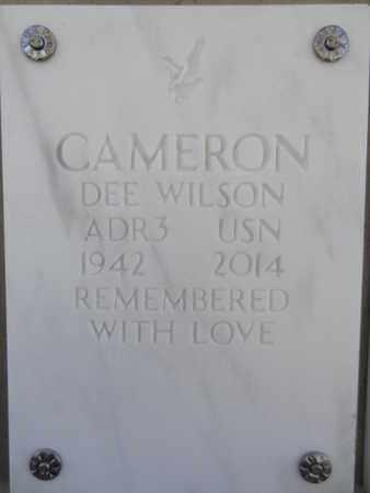CAMERON, DEE WILSON - Yavapai County, Arizona | DEE WILSON CAMERON - Arizona Gravestone Photos