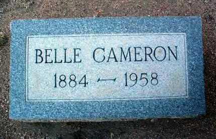 CAMERON, JENNIE BELLE - Yavapai County, Arizona | JENNIE BELLE CAMERON - Arizona Gravestone Photos