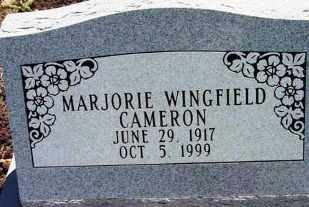 WINGFIELD CAMERON, M. - Yavapai County, Arizona   M. WINGFIELD CAMERON - Arizona Gravestone Photos