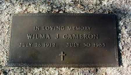 CAMERON, WILMA JEAN - Yavapai County, Arizona | WILMA JEAN CAMERON - Arizona Gravestone Photos