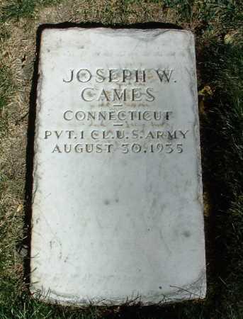 CAMES, JOSEPH W. - Yavapai County, Arizona   JOSEPH W. CAMES - Arizona Gravestone Photos