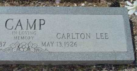 CAMP, CARLTON LEE - Yavapai County, Arizona | CARLTON LEE CAMP - Arizona Gravestone Photos