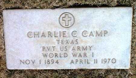 CAMP, CHARLIE CULVERSON - Yavapai County, Arizona | CHARLIE CULVERSON CAMP - Arizona Gravestone Photos