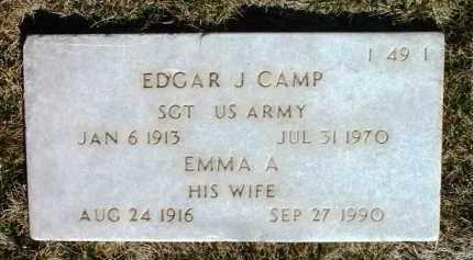 CAMP, EMMA A. - Yavapai County, Arizona | EMMA A. CAMP - Arizona Gravestone Photos