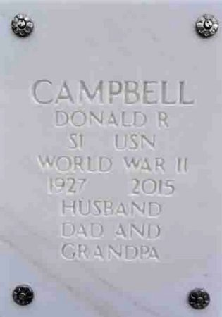 CAMPBELL, DONALD RUSSELL - Yavapai County, Arizona | DONALD RUSSELL CAMPBELL - Arizona Gravestone Photos