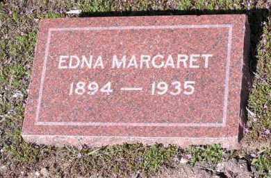 CAMPBELL, EDNA MARGARET - Yavapai County, Arizona   EDNA MARGARET CAMPBELL - Arizona Gravestone Photos